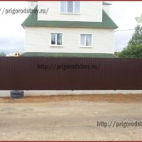 сделали забор в Санкт-Петербурге
