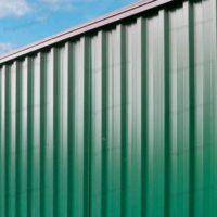 Забор из профлиста в рамке из профтрубы