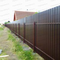 Забор в коттеджном поселке Всеволожский